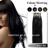 NEW TYPES cheap keratin blond hair extensions for i tip