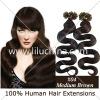 Nail tip body wavy hair extension