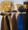 Nail tip hair extension,Flat tip hair extension,I tip hair extension
