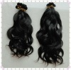 Natural Color Natural wave Malaysian Hair Hand Tied Weft