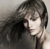 Natural Grizzly Feather Extensions For Hair