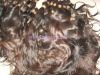 Natural Virgin remy human hair bulk