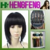 Natural black wigs hair short synthetic wigs to ladies