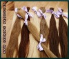 Natural blond human hair bulk / blond human hair/ Cuticle Remy Blond Hair Bulk