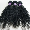 Natural kinky curly mongolian hair weft