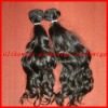 Natural wave-Super quality 100% Brazilian virgin hair extension-hand tide weft