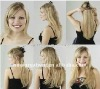 New Arrival !and beautiful Synthetic Hair Weft Extensions