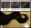 New Coming loose weave Weft / virgin chinese hair / NATURAL CHEMICAL FREE HAIR WEFT