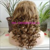 New Fashion 100% Indian Remy Human Hair Stock Full Lace Wigs
