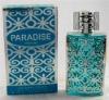 New Paradise blue perfume