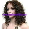 "New Year hot selling 12"" 2# highlight 30# curly Chinese haitr wigs,accept paypal"