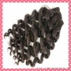 New product hair weaving spiral curl virgin mongolian hair extension