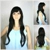New style Synthetic hair full machine wig -paypal is acceptable