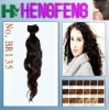 New style synthetic hair weft black color