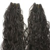 New style virgin hair brazilian human hair wefts super curly hair color #2
