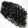 New style virgin hair wefts hair color #1 real human brazilian hair