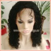 Newest Curly Indian Remy Hair Full Lace wigs