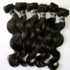 Newest raw body wave virgin indian hair in stock