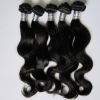 Newest soft straight & body wave real peruvian hair for Xmas