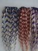 Nice quality wholesale mixed color human hair weft