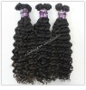 Nice virgin Brazilian remy hair weaving, natural color, different types of wave