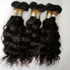 No tie,no shedding curly peruvian hair weaving