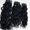 Noble weaving virgin russian hair extension curly