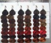 OEM color swatch book/Hair color chart