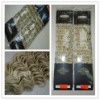 OEM synthetic hair machine weft