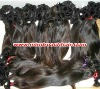 On sales 18inch 2# natural straight Brazilian hair,accept paypal120cm~150cm width 100% virgin Brazilian hair,accept paypal