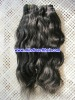 Orginal short remy virgin Indian human hair extension,accept escrow