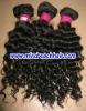 "Original 14"" 1# curly virgin Brazilian human hair,accept paypal"