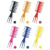 PP comb-cosmetic comb , hair cutting comb,salon comb