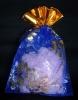 Paper soap /soap confetti/soap paper in printing organza bag