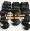 Peruvian virgin hair weft