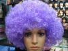 Popular Kinky Curly Lace Afro Wigs Blue