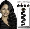 Pre-bonded Wave I-tip Human Hair Extension Wavy #1b_Natural Black