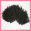 Premium quality Brazilian virgin human hair machine made wefts