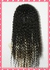 Premium quality kinky curl Peruvian hair weft