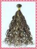 Premium quality virgin hair #4/#27high light color Peruvian hair