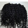 Processed remy virgin indian hair weft