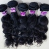 Pure wavy virgin malaysian hair weave without any mix