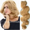 QUALITY clip in hair extensions wavy hair remy
