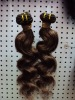 Real human hair/Indian/Brazilian virgin remy hair weft