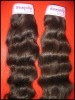 Real virgin brazilian hair weave