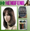Regular fashion brown synthetic wigs hair short