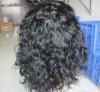 "Remy Brazilian 18"" wave full lace human hair wig swiss lace"