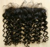 "Romantic Curl Natural Indian Virgin Lace Frontal (4""x13"")"