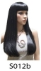 S012b long smooth wig