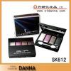 SAKINRE SK612 Cosmetics 4 Colors Shimmer Eyeshadow